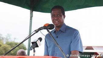 Afrika Zambia Edgar Lungu Präsident