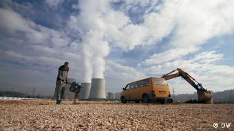 La obra de la central eléctrica de carbón de Tuzla 7