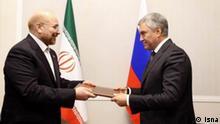 Russland Iran Ghalibaf in Moskau