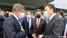 Türkei Ahmet Davutoglu und Ali Babacan
