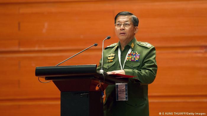 Myanmar Proteste gegen den Militärputsch