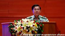 Min Aung Hlain Rede Zeremonie 2019