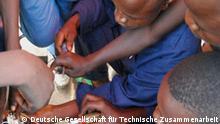 Former child soldiers learn practical skills in a reintigration program in Congo