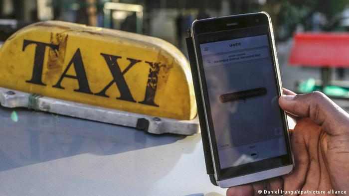 Uber-Taxi Services in Kenia