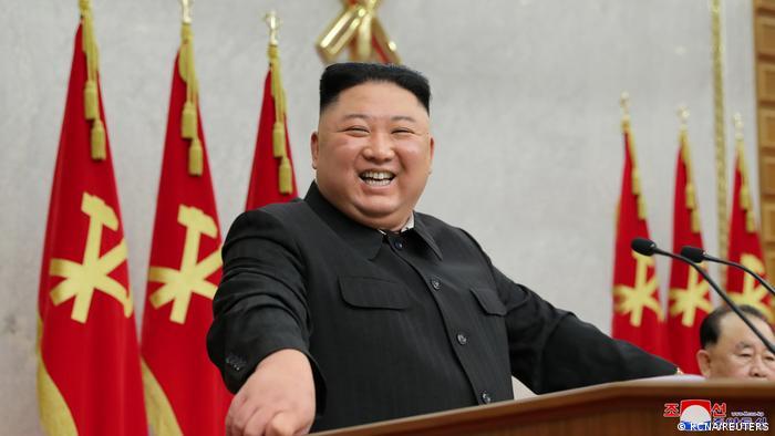 Nordkorea Plenarsitzung des Zentralkomitees der Arbeiterpartei in Pjöngjang