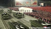 Nordkorea Militärparade