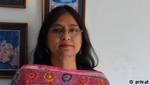 DW Urdu Bloggerin Aparna Reddy.