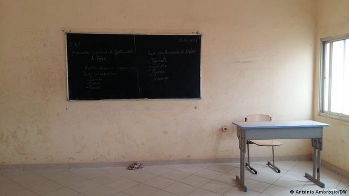 Angola Corona l Grundschulen nehmen den Unterricht wieder auf