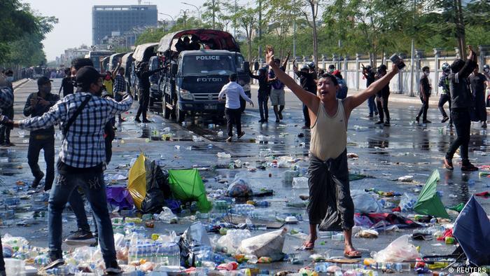 Prosvjed u Mandalaju