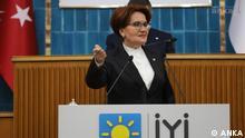 IYI Partei Vorsitzende Meral Aksener