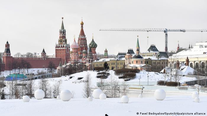 Neve em Moscou