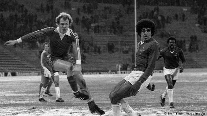 Cruzeiro fell to Bayern Munich in 1976