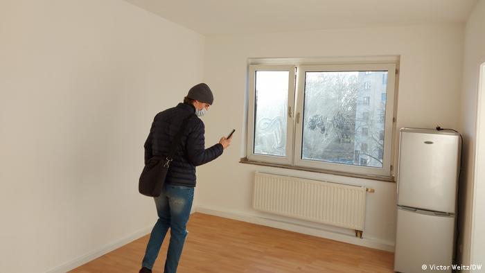Wohnungssuche - Besichtigungstermine mit Maske und Abstand