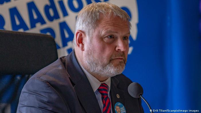 Der EVP-Politiker Riho Terras aus Estland führt die Borrell-Kritikerriege an