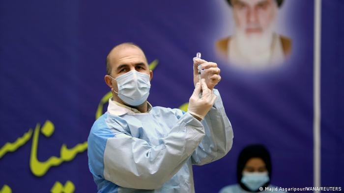 Iran Coronavirus Impfung Impfstart