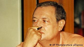 Le journaliste franco-canadien Guy-Andre Kieffer est porté disparu depuis 2004
