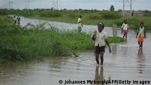 Mosambik Überschwemmung Limpopo-Fluss