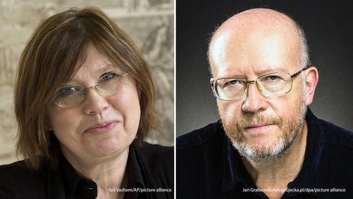 Barbara Engelking i Jan Grabovski