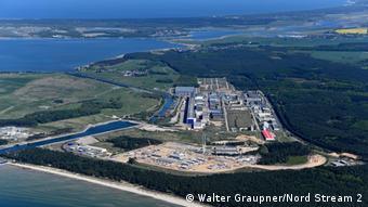 Берегова станція станція Північного потоку-2 у Німеччині