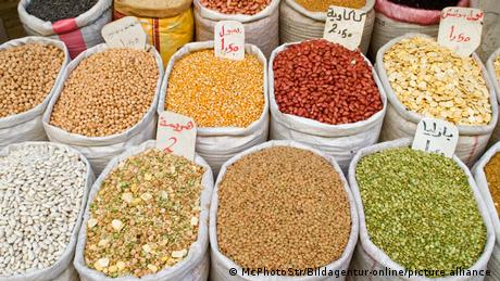 Libyen I Bunter Markt in Tripolis