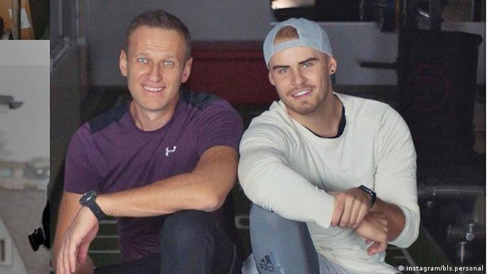 Алексей Навальный и его фитнес-тренер Бьорн Лебер