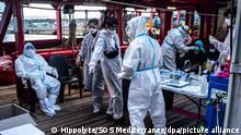 Italien Sizilien | Corona-Fälle auf Hilfsschiff «Ocean Viking»