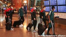 Fußballer des FC Bayern München in Katar angekommen