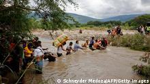 Kolumbien Migration l Flüchtlinge aus Venezuela - Grenze