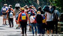 Kolumbien Migration l Flüchtlinge aus Venezuela - Highway in Cucuta
