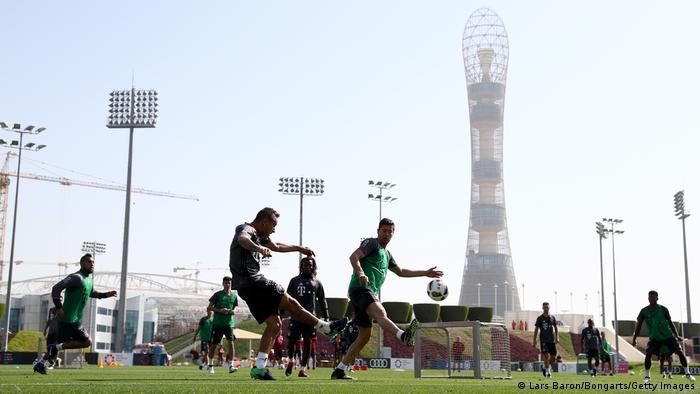 Katar Deutschland Fußball FC Bayern München Doha Training