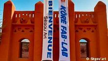 Mali I Eingang des Kunst und Kultur-Festivals I Ségou'art