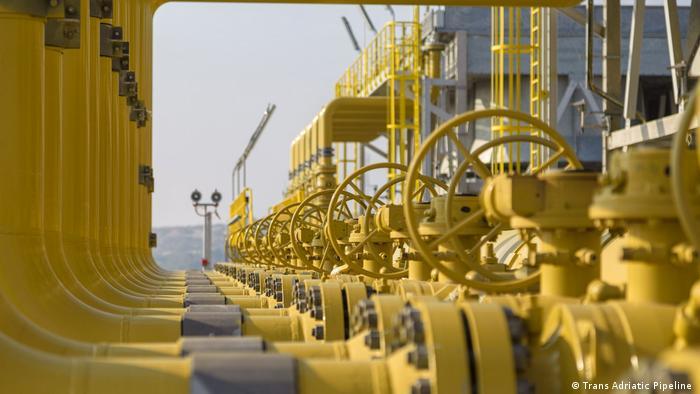 Griechenland Gaspipeline TAP | Transadriatische Pipeline | Trans Adriatic Pipeline