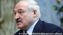 Belarus I Präsident Alexander Lukaschenko