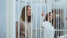 Belarus | Belsat Journalistinnen vor Gericht