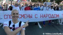 Basketballspielerin Yelena Leuchanka