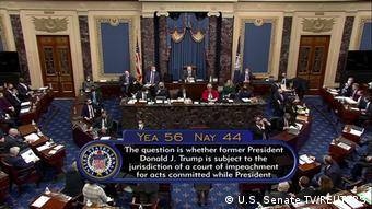 USA Impeachment-Prozess gegen Trump