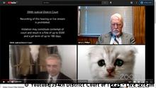 Screenshot Youtube/394th District Court of Texas - Live Stream