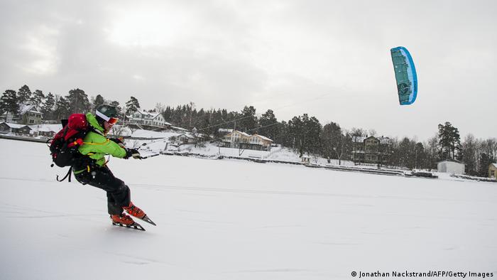BdTD Schweden Nordic Ice Kiting