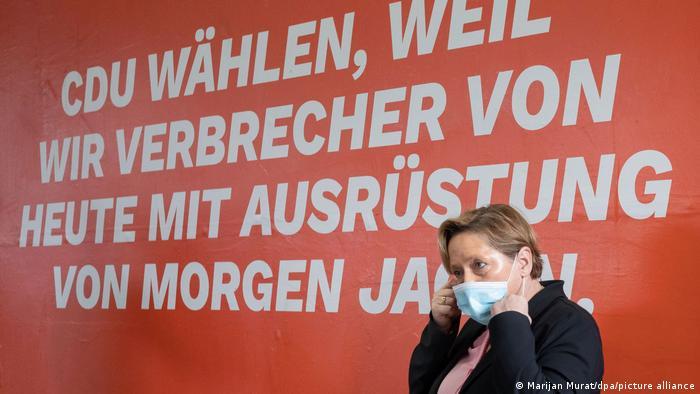 Eisenmann CDU Wahlkampagne Baden-Württemberg