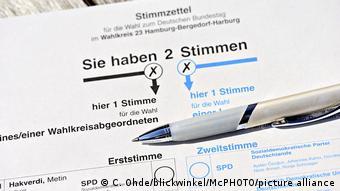 Γερμανία εκλογές επιστολική ψήφος
