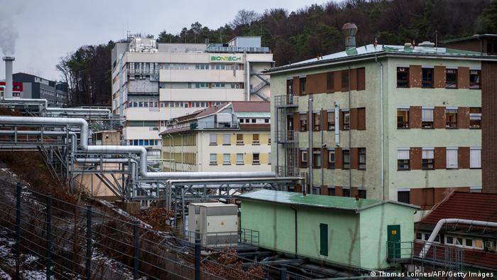 Deutschland Marburg | Coronavirus | neues Werk Biontech