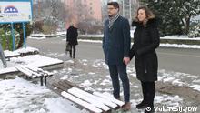Januar 2021 Slobodan und Milica Jelic in Osijek Das Ehepaar Jelić aus Osijek, Kroatien. Sie sind Angehörige der serbischen Minderheit in Kroatien.