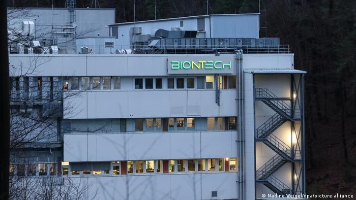 Zakład produkcyjny Biontechu w Marburgu