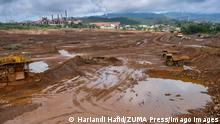 28.03.2019 March 28, 2019 - Sorowako, South Sulawesi, Indonesia - An over view of the nickel mining area..Nickel mining by the PT Vale Indonesia, a nickel plant in Soroako, South Sulawesi, Indonesia. A number of economists and observers predict an increase in demand for nickel in future, one of the reasons is the era of electric vehicles where nickel is a raw material for its batteries. Sorowako Indonesia PUBLICATIONxINxGERxSUIxAUTxONLY - ZUMAs197 20190328_zab_s197_025 Copyright: xHariandixHafidx