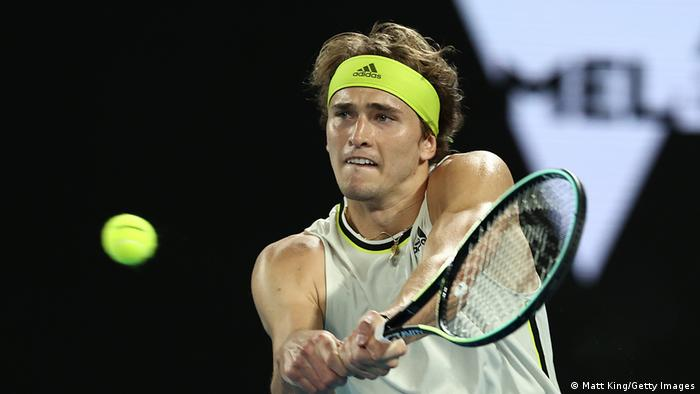 Australian Open Tennis Alexander Zverev - Maxime Cressy