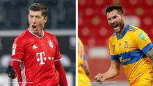 Bildkombo Fußball Fifa Klub WM Katar | Bayern München v Tigres