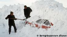 Deutschland Schneekatastrophe im Winter 1978/1979