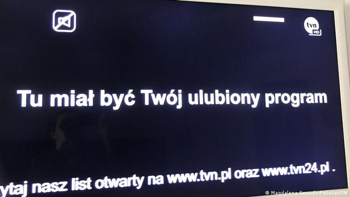 Protest mediów w Polsce przeciwko planom rządu
