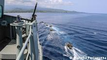 Patrouillenmission der portugiesischen Marine im Golf von Guinea Foto: Marinha Portuguesa Rechte frei via Nuno de Noronha