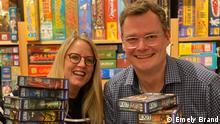 Spieleautoren Inka und Markus Brand Datum: 14/01/2021 Ort: Gummersbach (c) Emely Brand